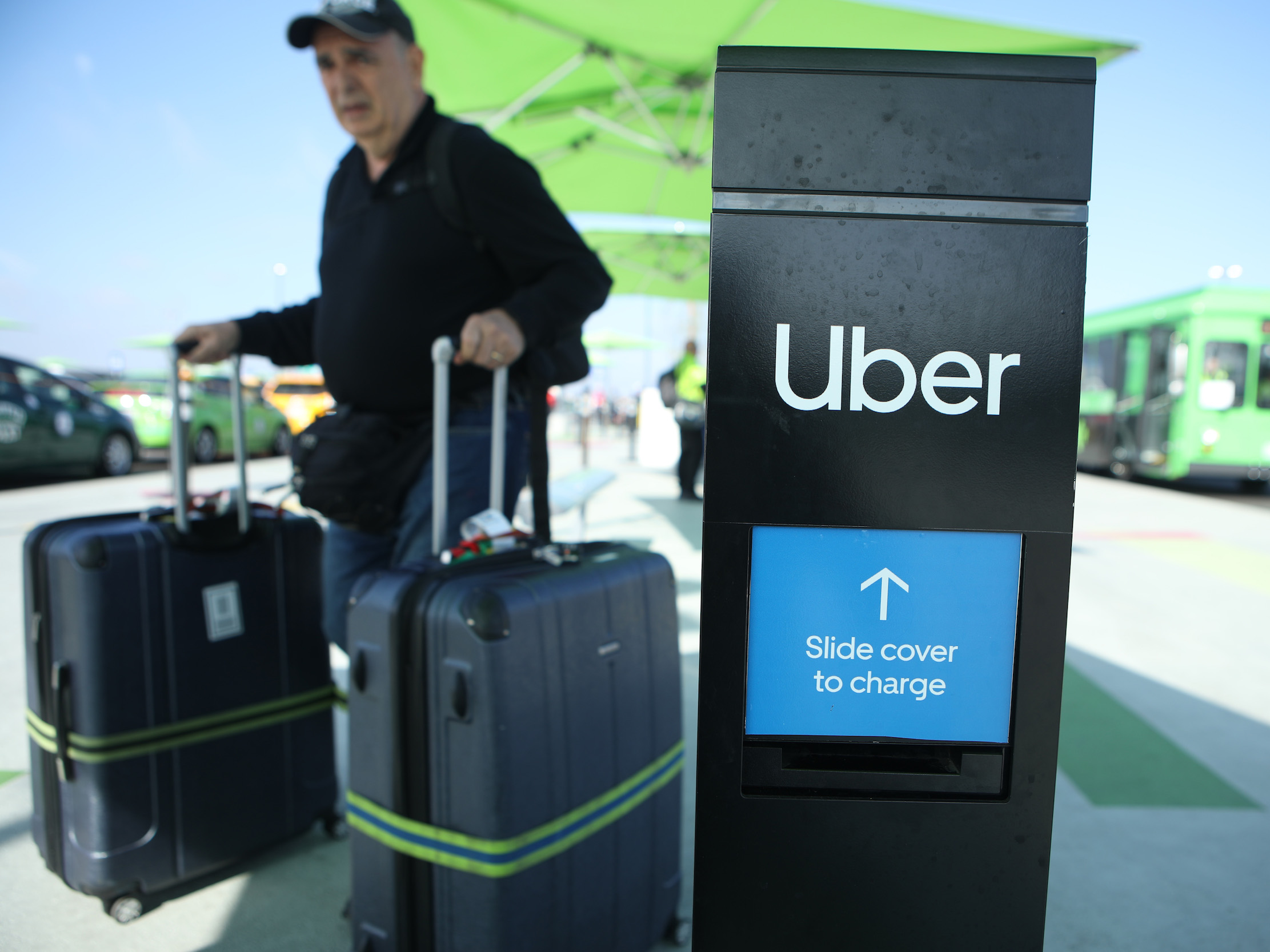Uber drivers scared of coronavirus are refusing to pick up airport passengers