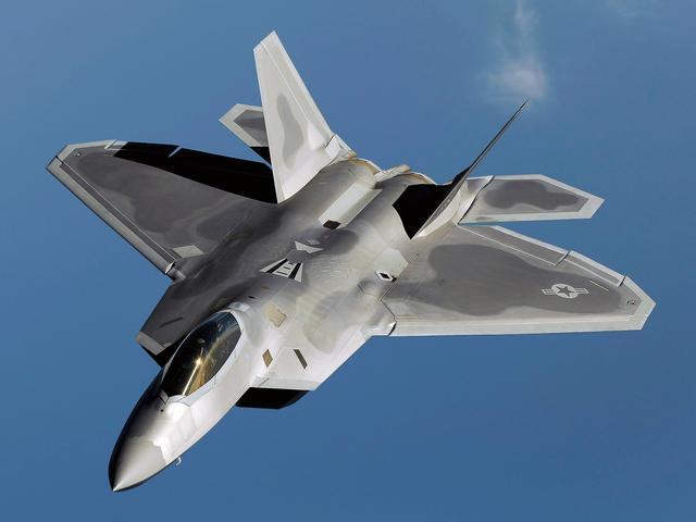 F22战机试用生物燃料,不止取之不尽,披上环保外衣,外加省钱