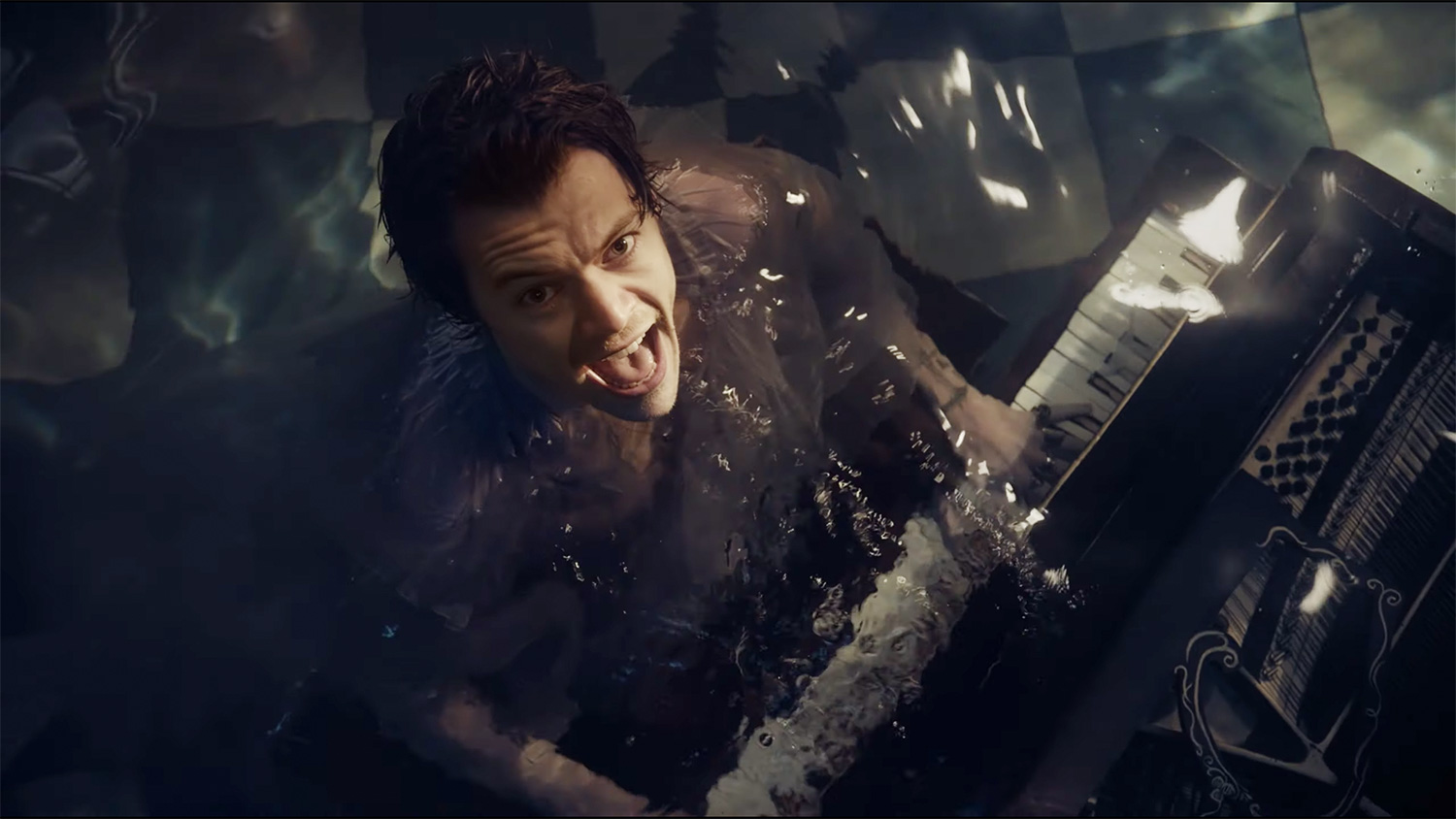 Harry Styles Gets Submerged Underwater as He Reflects on Lost Love in 'Falling' Music Video