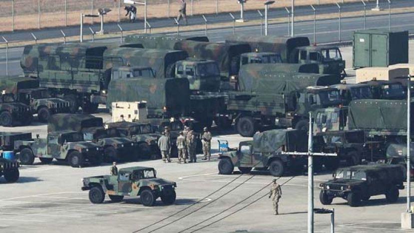 美军封锁驻韩美军基地 防控新冠肺炎疫情蔓延