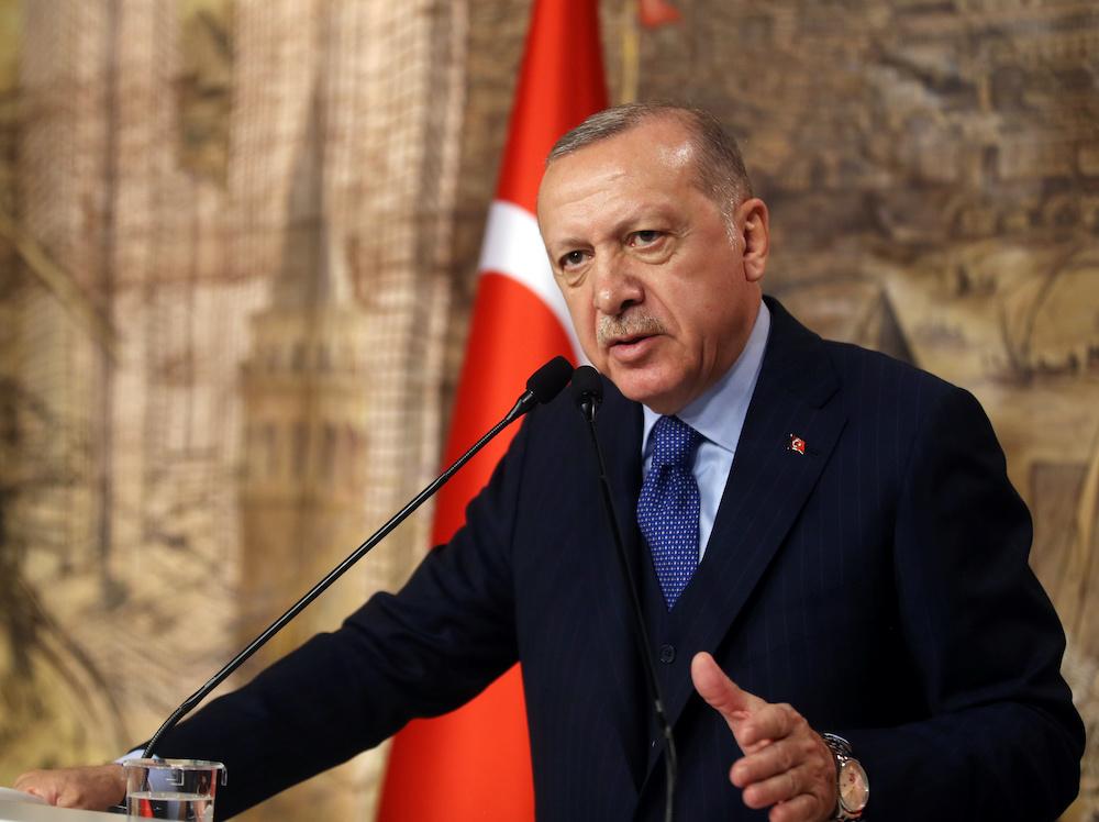 Turkey's Erdogan asks Russia's Putin to step aside in Syria