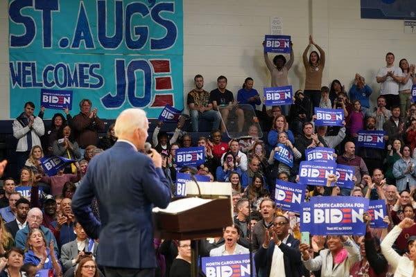 Joe Biden Had a Big Night. He Needs Another in 72 Hours.