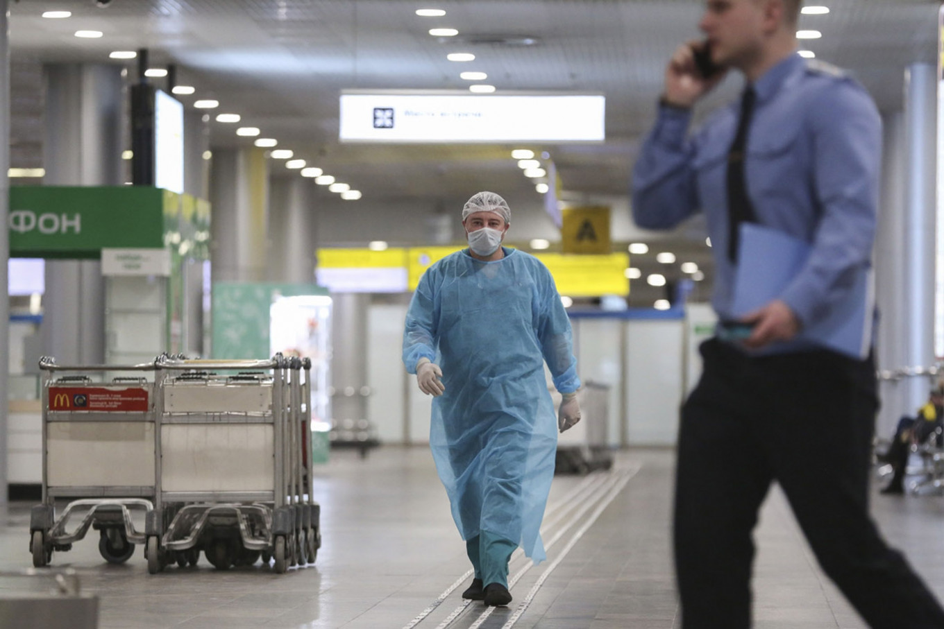 Russia asks citizens to avoid foreign travel over virus fears