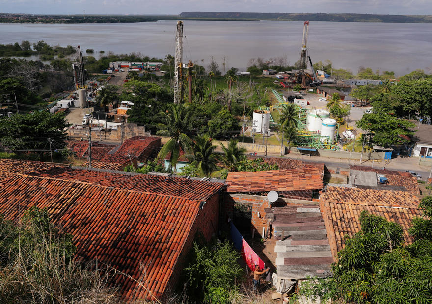 Brazil's cracked city leaves corporate heavyweights on the hook
