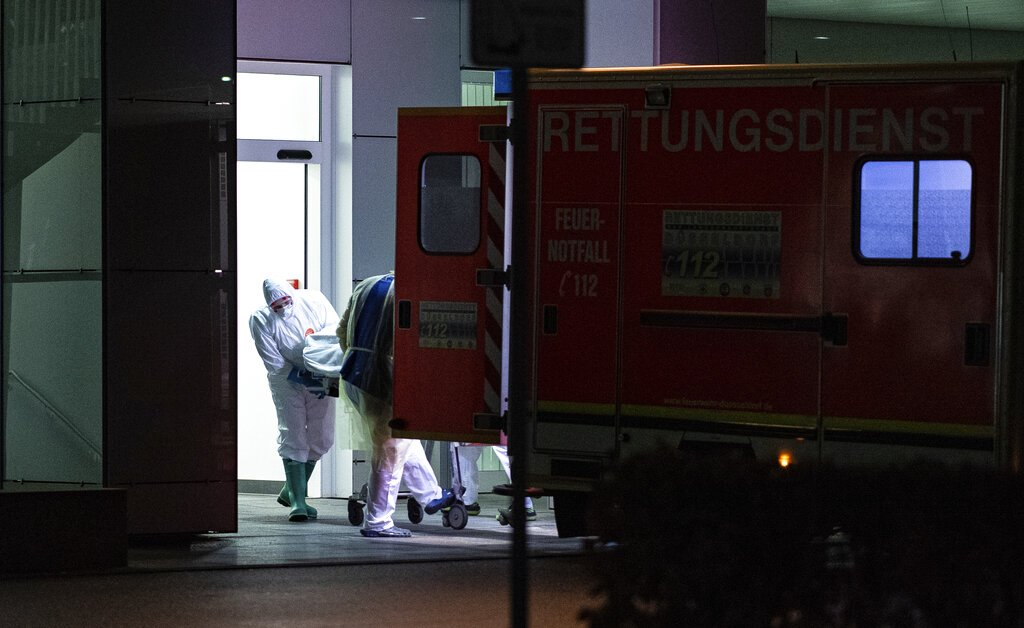 Germany's virus cases nearly double to 129
