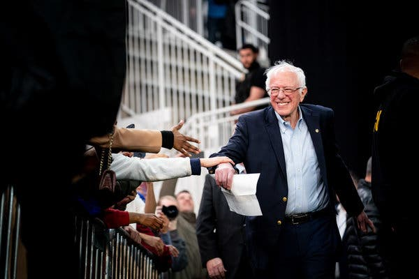 Bernie Sanders Raised $46 Million in February, a Record for 2020