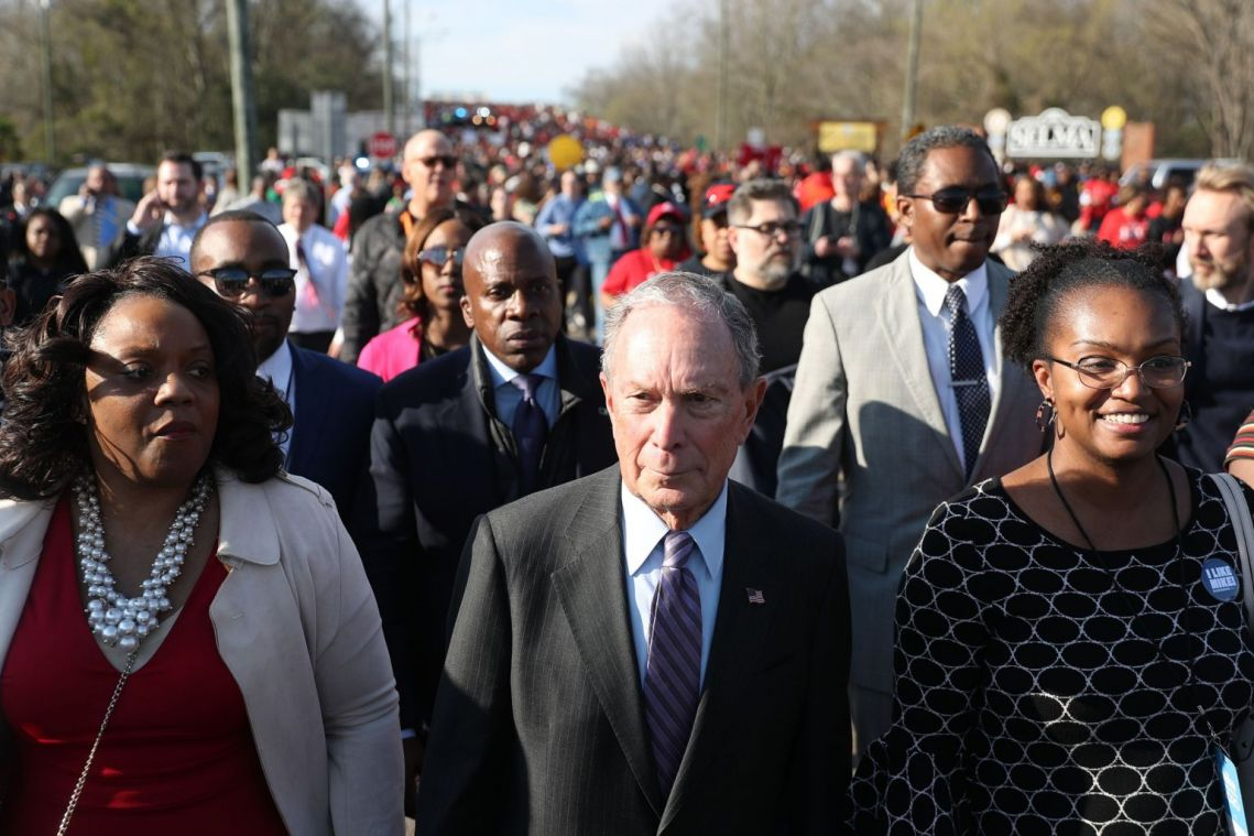 Years of giving and activism help Michael Bloomberg raise an army of backers