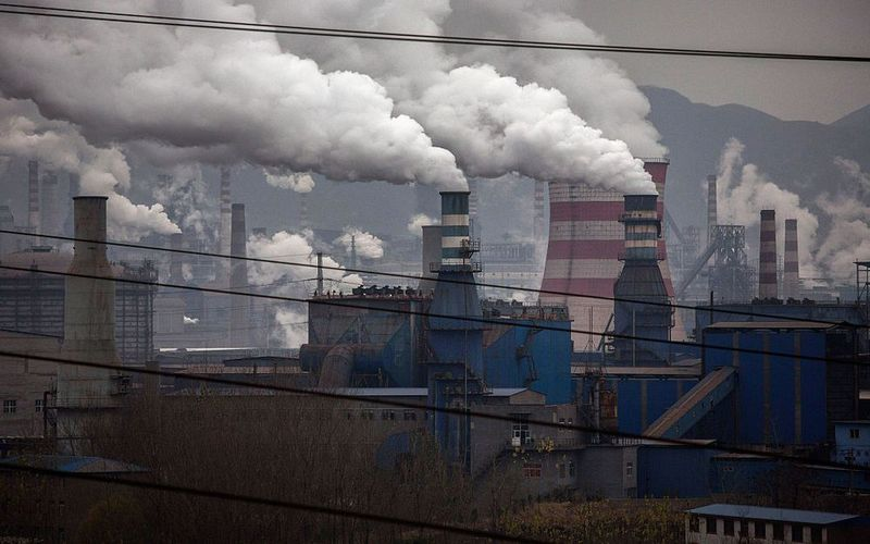 Air pollution vanishes across China's industrial heartland
