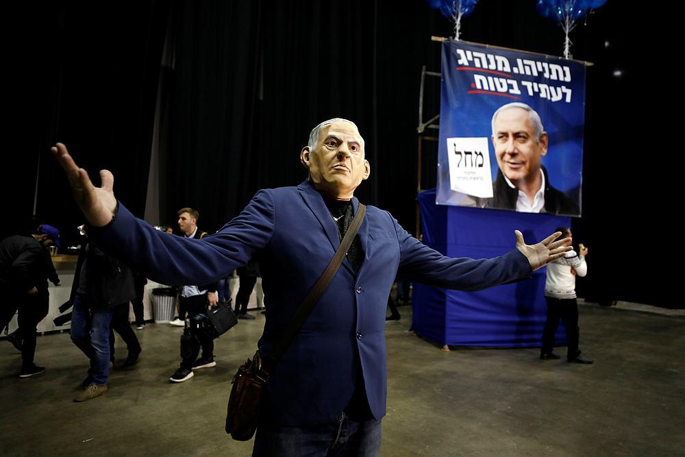 Netanyahu set to declare narrow victory in Israeli election, says party spokesman