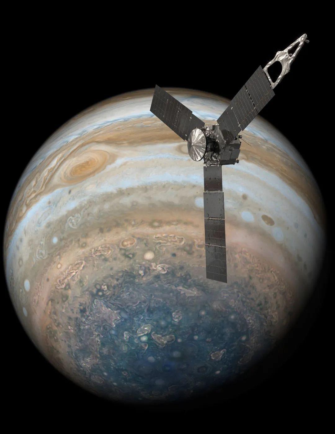 原创 木星两大风暴发生合并!美国探测器拍摄到罕见一幕