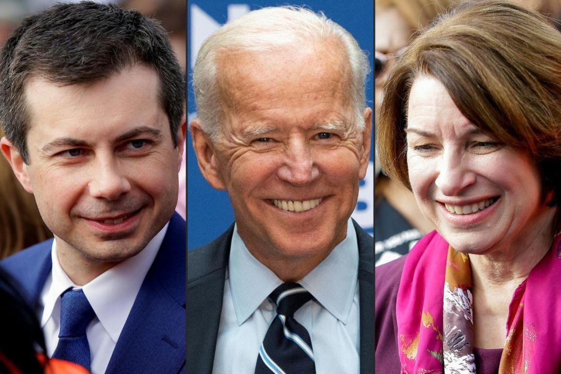 Democrats Amy Klobuchar, Pete Buttigieg to join former vice-president Joe Biden on stage on Super Tuesday eve