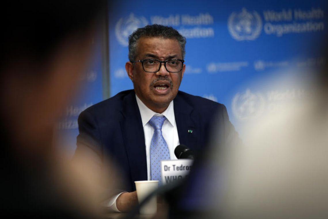 Coronavirus: South Korea, Iran, Italy and Japan are greatest concern, says WHO chief Tedros