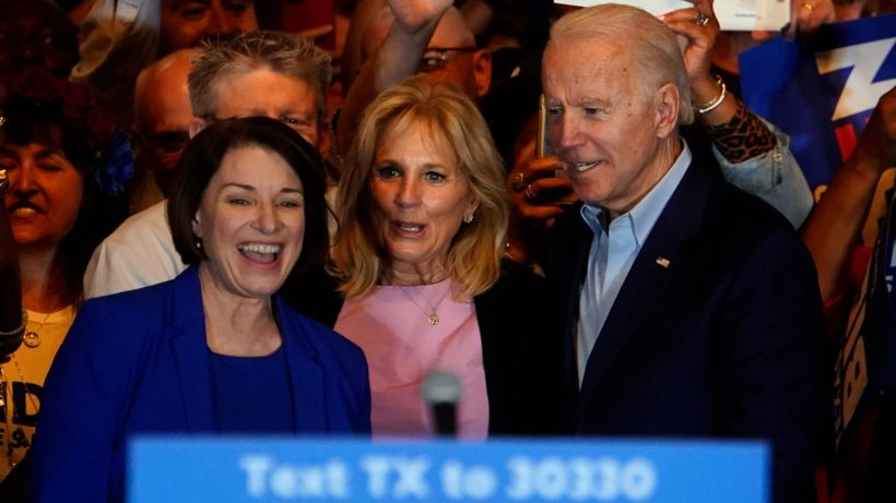 US election 2020: Joe Biden boosted on Super Tuesday