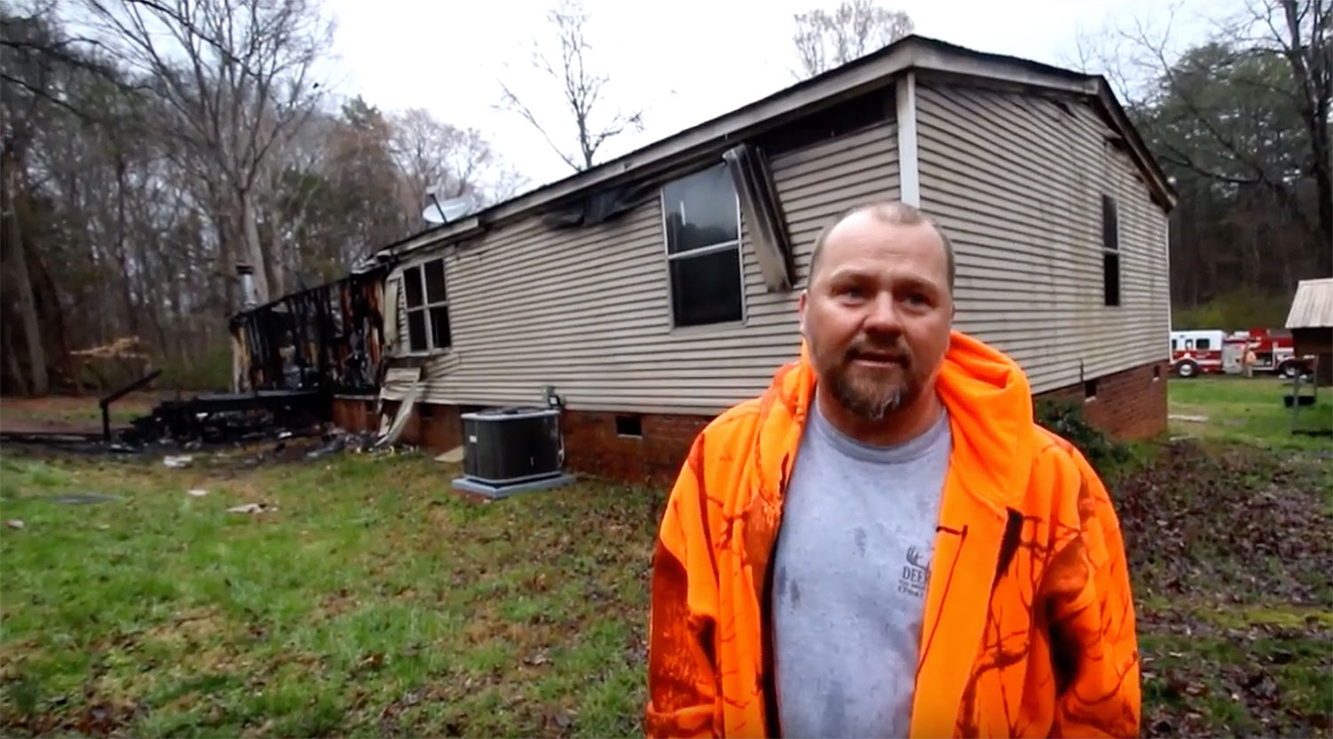 North Carolina Man Saves His Family After Camera Meant to Detect Fox Picks Up House Fire Instead