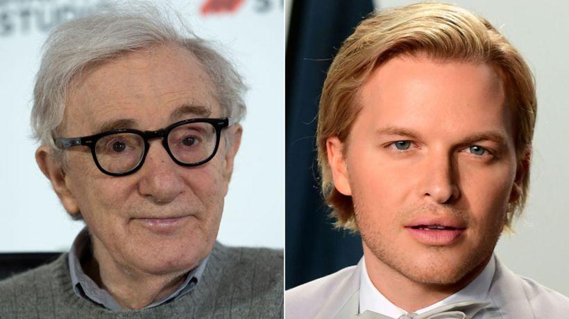 Ronan and Dylan Farrow attack publisher Hachette over Woody Allen memoir