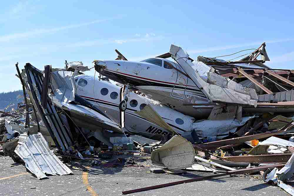 Tornadoes rip through Nashville, Tennessee on Super Tuesday, killing 22