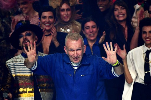 Fashion icon Gaultier hands his scissors to Sacai's Abe