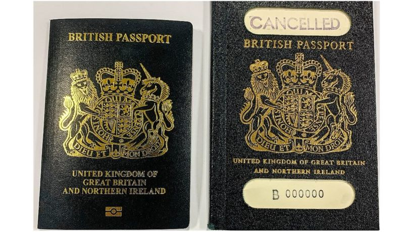 Is the new passport really blue or black?