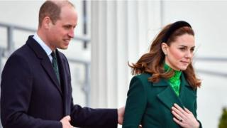 Prince William calls for 'strong bond' with Ireland after Brexit