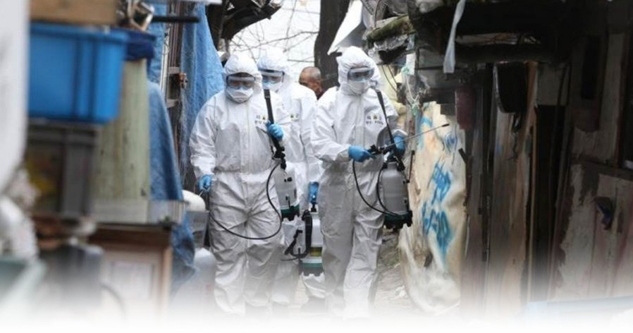 【新冠肺炎】韩国累计5766确诊36死 民众排队抢购口罩