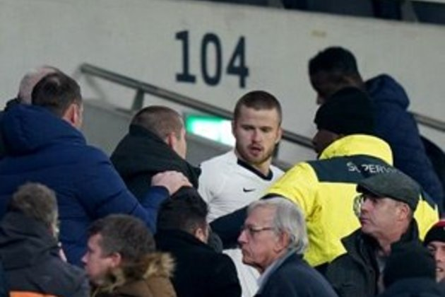 WATCH | Dier jumps into stands as Tottenham crash out of FA Cup