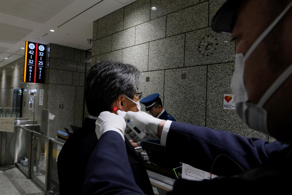 Japan to quarantine visitors from China, South Korea over virus