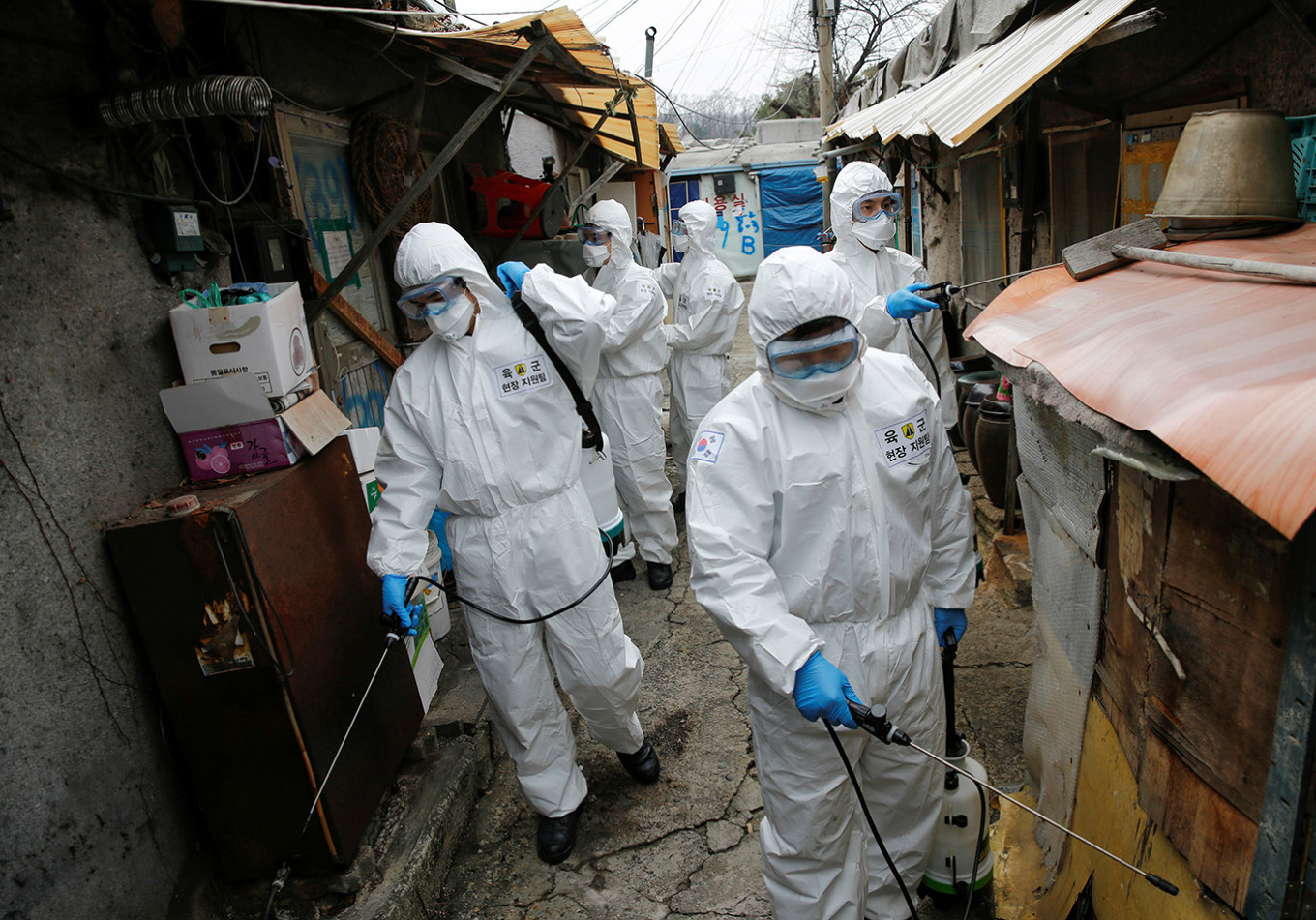 South Korea reports lowest new infections for a week