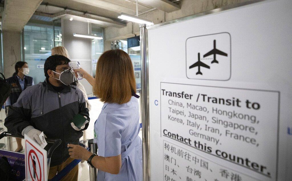 Thailand says visitors from virus-risk zones must self-quarantine