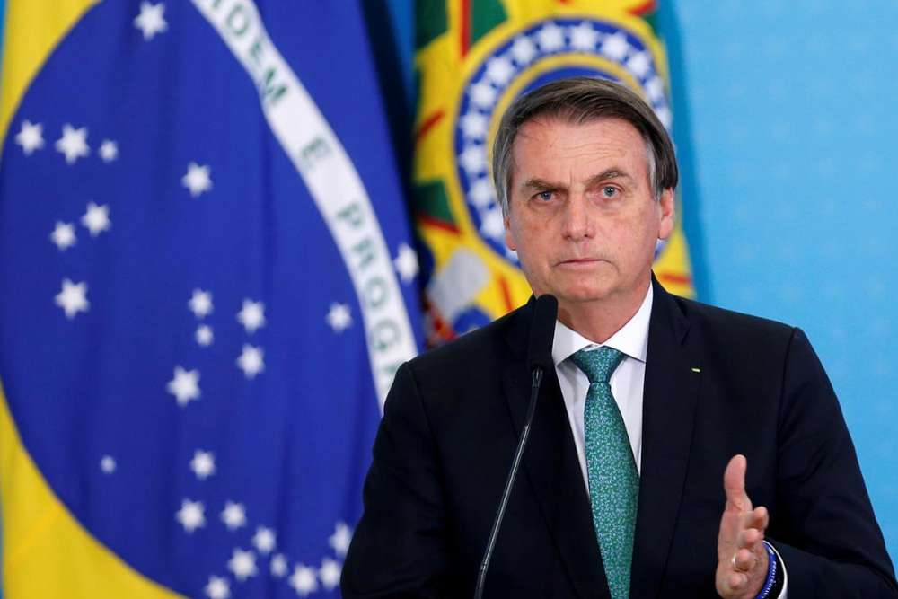 Brazil's Bolsonaro tested for coronavirus, says son