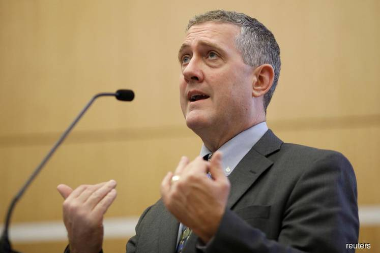 Fed's Bullard says policy now in the right place to address coronavirus risks