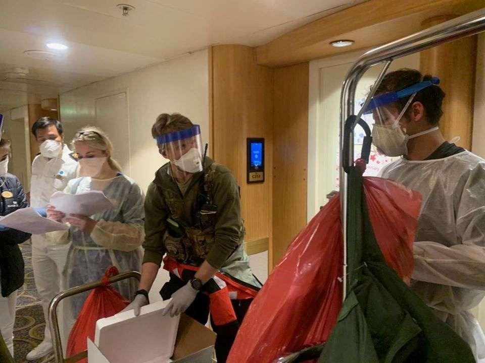 Cruise ship passengers 'in limbo' off San Francisco awaiting coronavirus tests