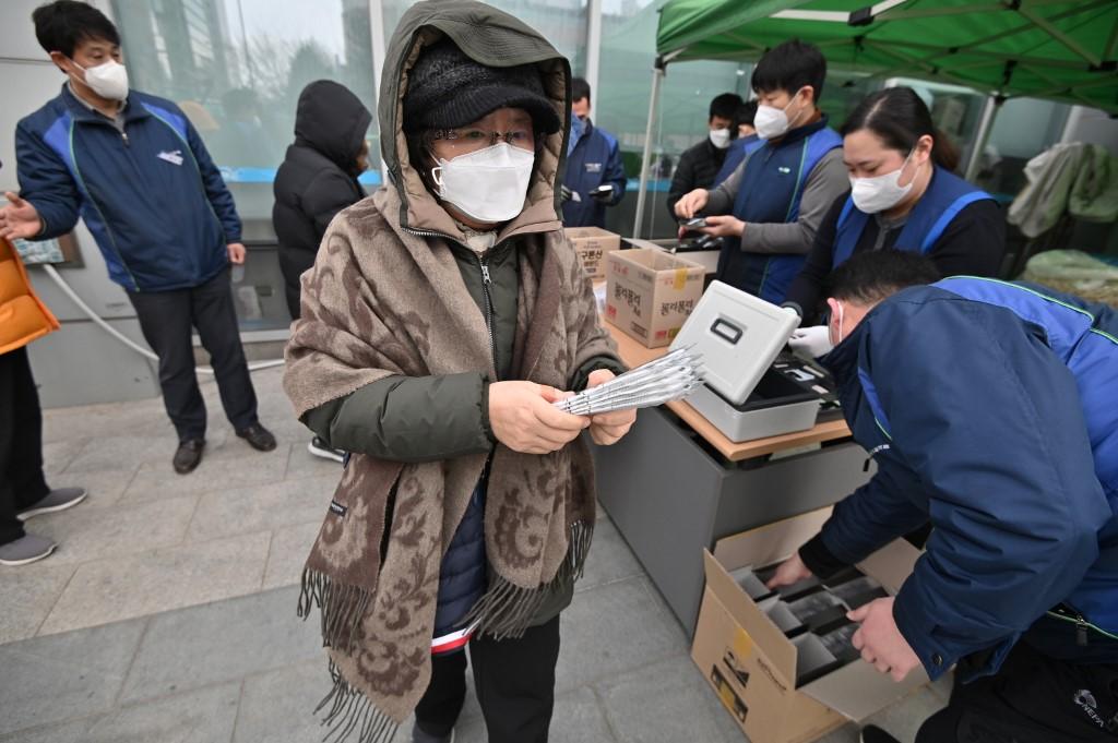 【冠状病毒19】韩国确诊病例总数已超过7000起
