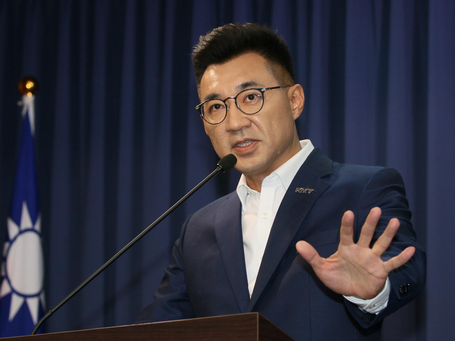 快讯!江启臣当选中国台湾国民党主席(组图)