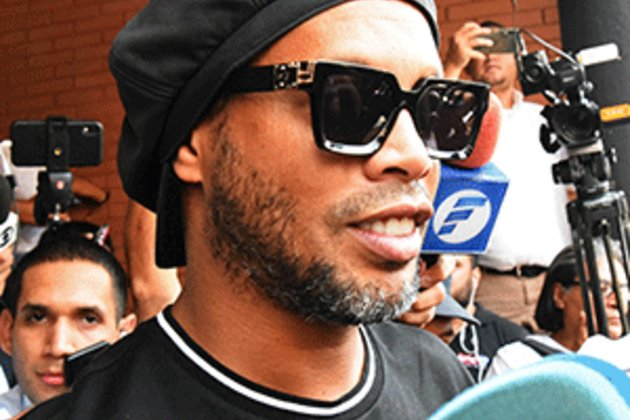 Ex-Brazil star Ronaldinho, brother arrested in Paraguay