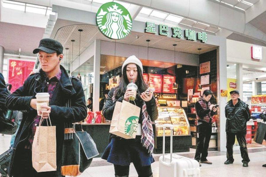 星巴克称中国业务剧降后恢复正常