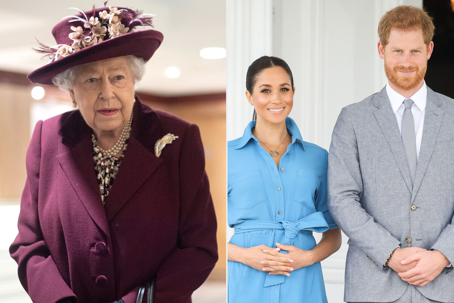 Queen Elizabeth Makes Subtle Nod to Meghan Markle and Prince Harry in New Speech Amid Royal Exit