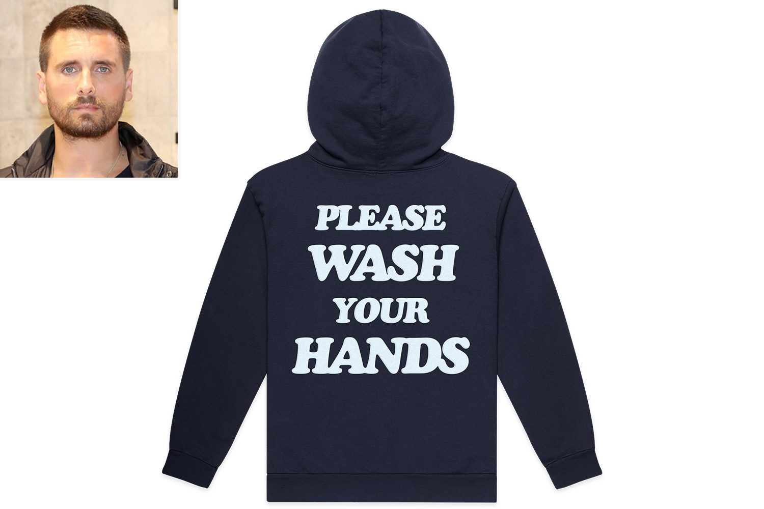 Scott Disick Is Selling Clothes That Say 'Wash Your Hands' in the Wake of Coronavirus Outbreak