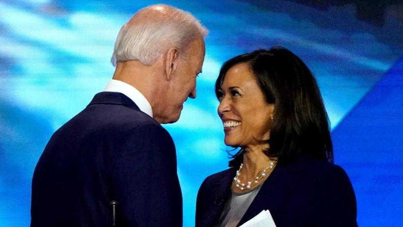 Kamala Harris endorses Joe Biden as Democratic presidential candidate