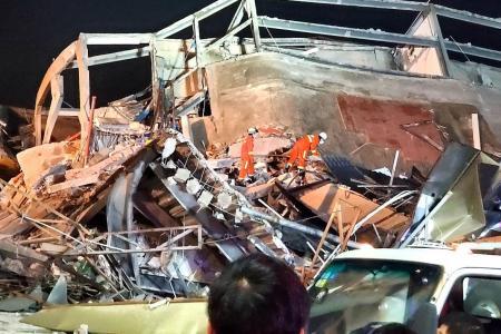 Quarantine hotel in China crumbles in seconds, 10 killed