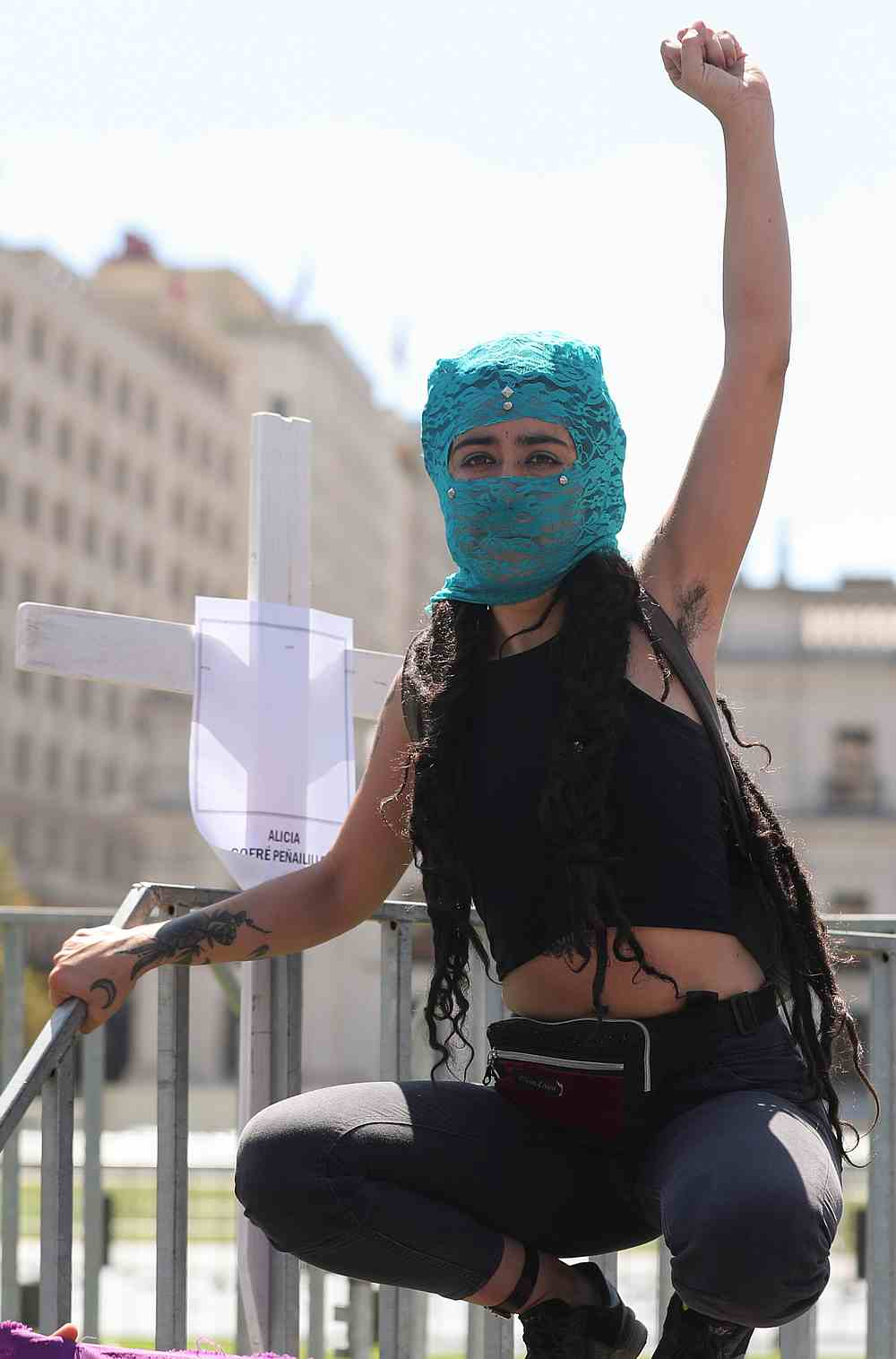 Women pack streets in massive marches across Latin America