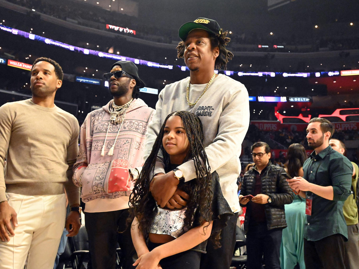Blue Ivy Carter was too nervous to ask LeBron James for an autograph, and the video is adorable