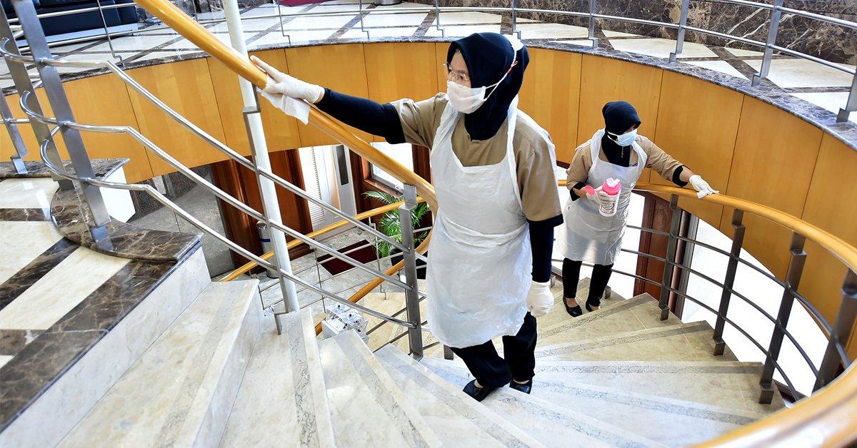 ◤全球疫急◢国能办公室彻底消毒清洁 减低染病风险