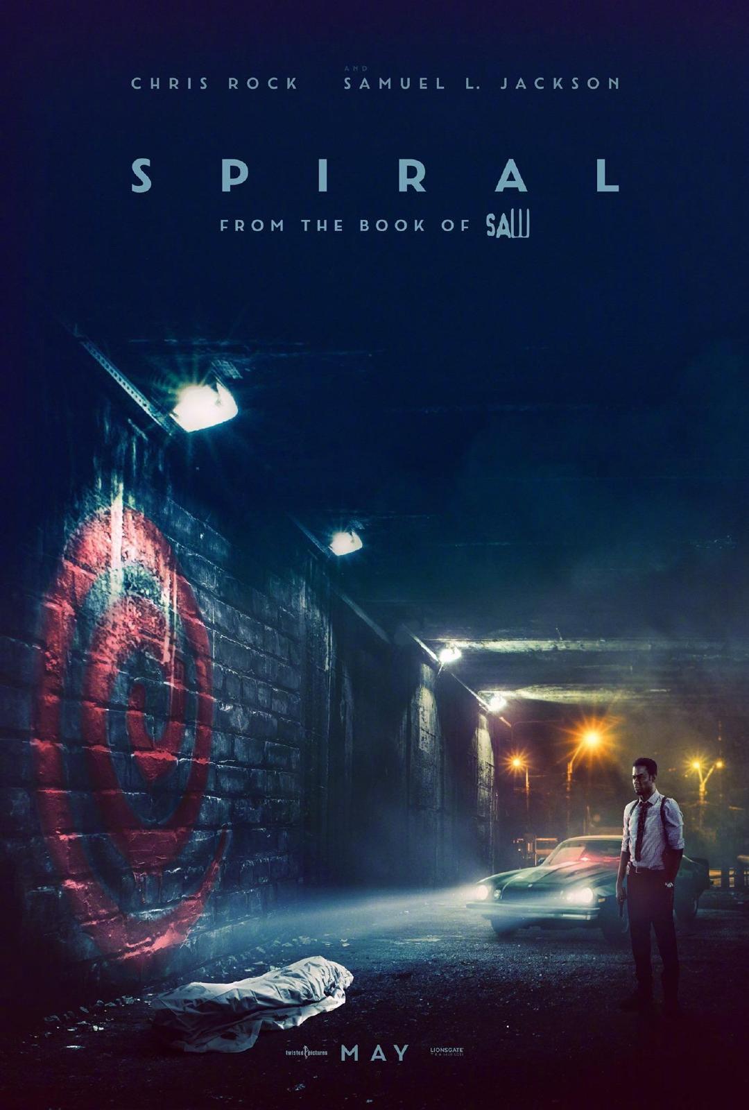 恐怖片《电锯惊魂9:螺旋》发布新海报 气氛阴森诡谲
