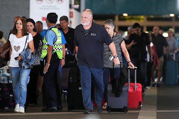 ◤全球疫急◢新国封锁邮轮中心 幸运号400人顺利下船