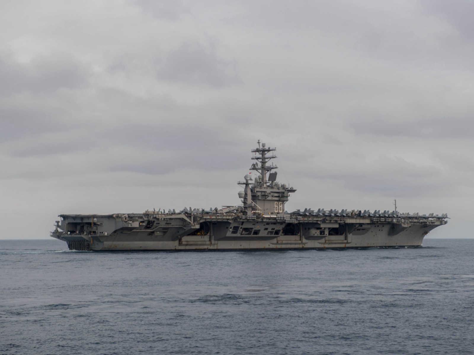 美军导弹驱逐舰闯入西沙领海 解放军强硬反制