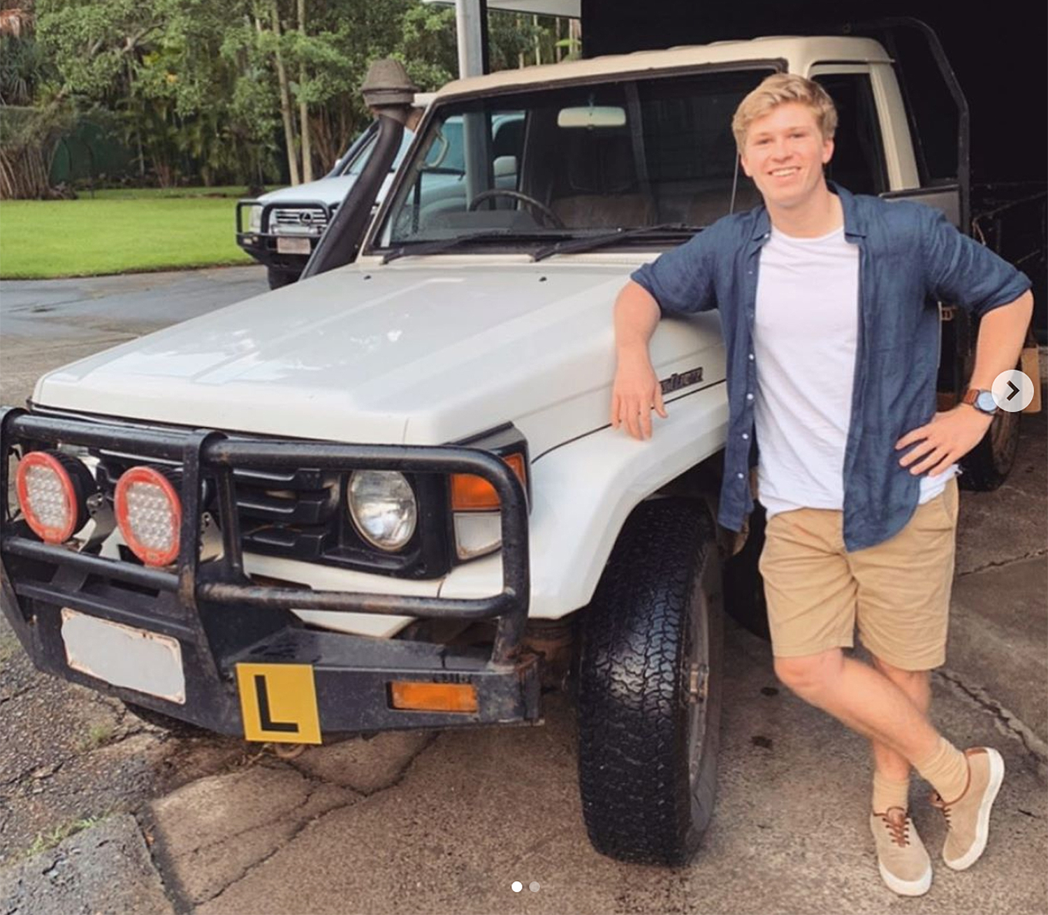 Robert Irwin, 16, Is Learning to Drive — in His Late Father's Steve Irwin's Old Car