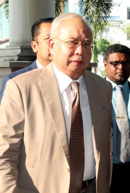 ◤SRC案◢纳吉完成SRC案自辩 5月12日起控辩方陈词