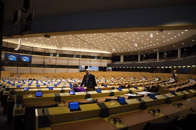 No Health Emergency But Virus Hits Politics in EU's Heart