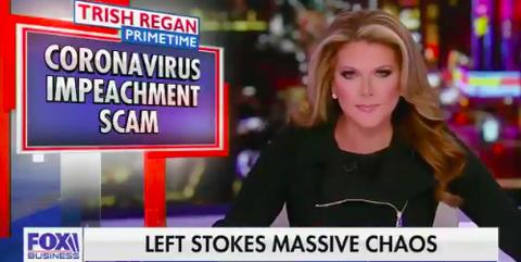 This Fox Business Take on Trump's Coronavirus Critics Is Legitimately Deranged