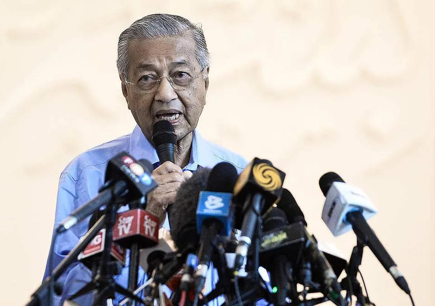 Mahathir throws in the towel, sees Muhyiddin staying as PM at least until next general election